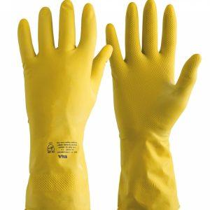 Luva De Segurança Latex Comfort Amarela - Kala